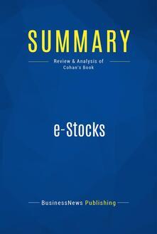 Summary: e-Stocks