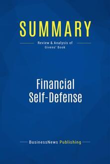 Summary: Financial Self-Defense