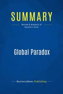 Summary: Global Paradox