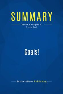 Summary: Goals!