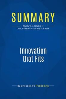 Summary: Innovation That Fits