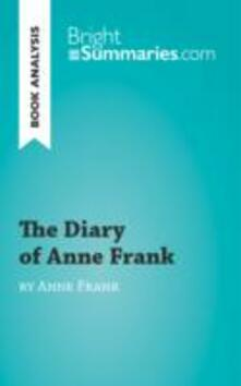 Diary of Anne Frank (Book Analysis)
