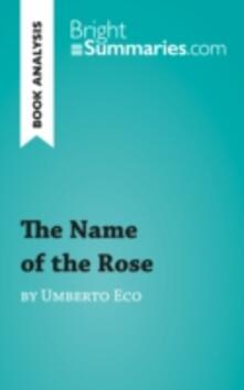 The Name of the Rose by Umberto Eco (Book Analysis)