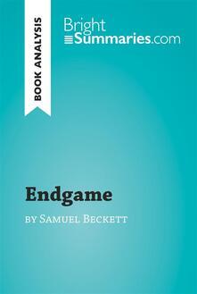 Endgame by Samuel Beckett (Book Analysis)