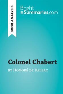 Colonel Chabert by Honoré de Balzac (Book Analysis)