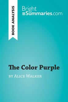 The Color Purple by Alice Walker (Book Analysis)