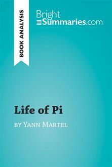 Life of Pi by Yann Martel (Book Analysis)