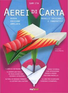 Aerei di carta. Modelli originali e innovativi - Sam Ita - copertina