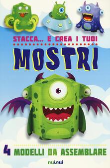 Voluntariadobaleares2014.es Stacca... e crea i tuoi mostri. Ediz. a colori Image
