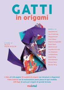 Gatti in origami. Con video tutorial - copertina
