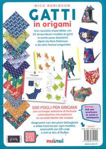 Gatti in origami. Con video tutorial - 2