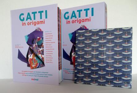Gatti in origami. Con video tutorial - 3