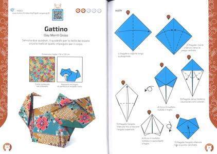 Gatti in origami. Con video tutorial - 4
