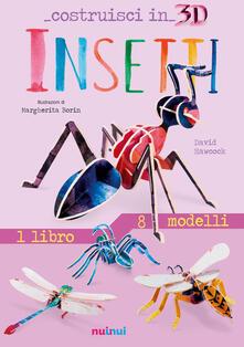 Librisulladiversita.it Insetti. Costruisci in 3D. Ediz. a colori. Con gadget Image