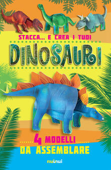 Antondemarirreguera.es Stacca... e crea i tuoi dinosauri. Ediz. a colori Image