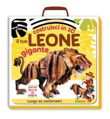Costruisci in 3D il tuo leone gigante. Ediz. illustrata. Con gadget - David Hawcock - copertina