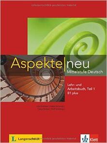 Antondemarirreguera.es Aspekte 1.1. Lehrbuch. Per le Scuole superiori. Con DVD. Con espansione online. Vol. 1 Image