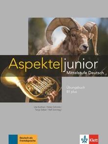 Daddyswing.es Aspekte junior B1 plus. Ãbungsbuch. Per le Scuole superiori. Con Audio formato MP3 Image