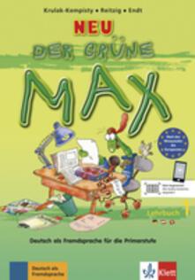 Grandtoureventi.it Der grune Max. Lehrbuch. Per la Scuola elementare. Vol. 1 Image