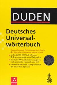 Deutsches universalwörterbuch. Con CD-ROM - Duden - copertina