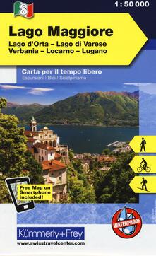 Osteriacasadimare.it Lago Maggiore, lago d'Orta, lago di Varese, Verbania, Locarno, Lugano 1:50.000. Carta escursionistica Image