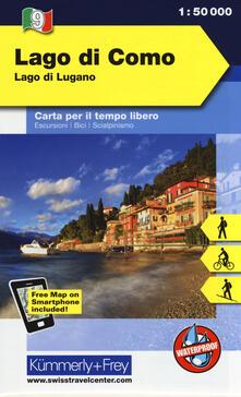 Camfeed.it Lago di Como, lago di Lugano 1:50.000. Carta escursionistica Image