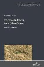 The Prose Poem As a (Non)Genre: A Polish Case Study