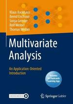 Multivariate Analysis: An Application-Oriented Introduction