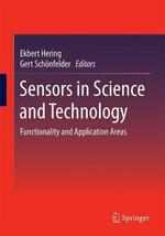 Sensors in Science and Technology: Functionality and Application Areas