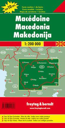 Associazionelabirinto.it Macedonia 1:200.000 Image