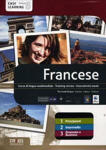 Francese. Vol. 1-2-3. Corso interattivo per principianti-Corso interattivo intermedio-Corso interattivo avanzato e business. DVD-ROM - copertina