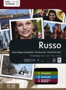 Libro Russo. Vol. 1-2-3. Corso interattivo per principianti-Corso interattivo intermedio-Corso interattivo avanzato e business. DVD-ROM
