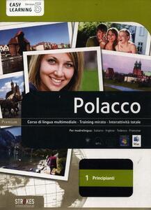Polacco. Corso interattivo per principianti. DVD-ROM. Vol. 1 - copertina