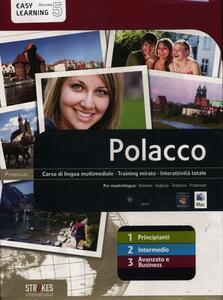 Polacco. Vol. 1-2-3. Corso interattivo per principianti-Corso interattivo intermedio-Corso interattivo avanzato e business. DVD-ROM - copertina