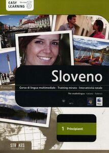 Libro Sloveno. Corso interattivo per principianti. DVD-ROM. Vol. 1