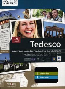 Tedesco. Vol. 1-2. Corso interattivo per principianti-Corso interattivo intermedio. DVD-ROM - copertina