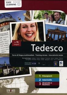 Promoartpalermo.it Tedesco. Vol. 1-2-3. Corso interattivo per principianti-Corso interattivo intermedio-Corso interattivo avanzato e business. DVD-ROM Image