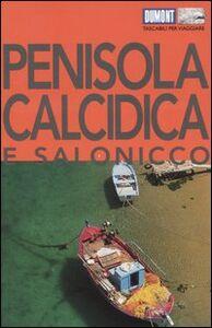 Libro Penisola Calcidica e Salonicco Klaus Bötig