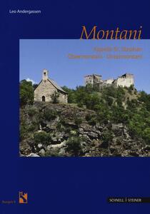 Montani. Kapelle St. Stefan - Leo Andergassen - copertina