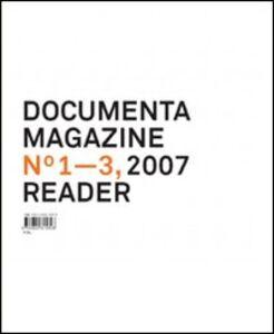 Foto Cover di Documenta 12 magazine. Vol. 1-3 reader, Libro di  edito da Taschen