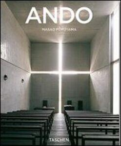 Foto Cover di Ando. Ediz. italiana, Libro di Masao Furuyama, edito da Taschen