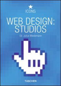 Libro Web design best studios. Ediz. italiana, spagnola e portoghese