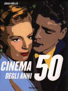 Foto Cover di Il cinema degli anni '50, Libro di  edito da Taschen