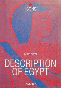 Foto Cover di Description of Egypt. Ediz. inglese, francese e tedesca, Libro di  edito da Taschen
