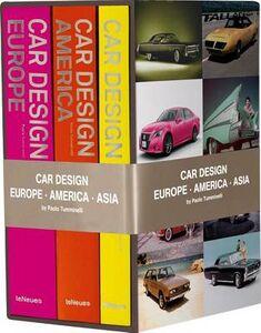 Foto Cover di Car design Asia-Car design Europe-Car design America. Ediz. inglese, tedesca e francese, Libro di Paolo Tumminelli, edito da TeNeues