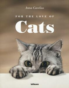 For the love of cats - Anna Cavelius - copertina