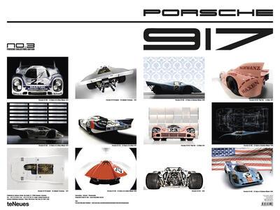 Calendario perpetuo TeNeues. Porsche 917 - 2