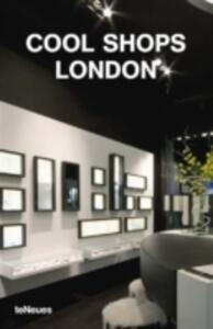 Cool shops London - copertina