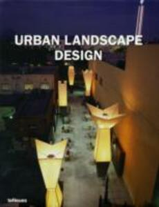 Urban landscape design. Ediz. multilingue - copertina