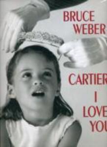 Cartier I love you - Bruce Weber - copertina